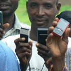 Mobile phone use has expanded enormously in Africa